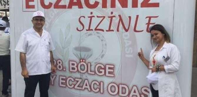 28. BÖLGE HATAY ECZACI ODASINDAN ''ECZACINIZ SİZİNLE'' ETKİNLİĞİ