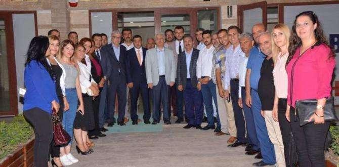 """AK Parti Hatay """"Genel Merkez Teşkilat Başkan Yardımcısı Ahmet KOCA'yı ağırladı"""""""