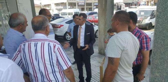CHP Hatay Milletvekili Serkan TOPAL  Esnaf Ziyaretlerini Sürdürüyor
