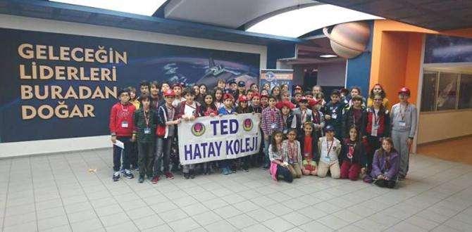 TED HATAY KOLEJİ ÖĞRENCİLERİ UZAY KAMPINDA