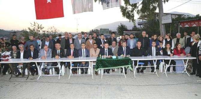 KIRIKHAN'DA CHP'YE BÜYÜK KATILIM