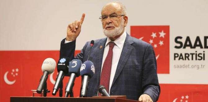 Karamollaoğlu :''O BABAYİĞİT SAADET PARTİSİ'DİR''