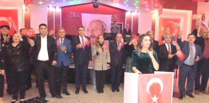 CHP Belen ve Partililer Dayanışma Gecesinde Eğlendiler