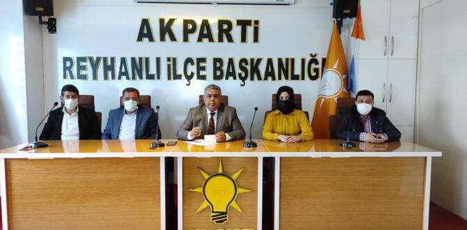 AK Parti Reyhanlı'da gündem konuşuldu