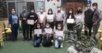 Gülistan'dan Sümerler Ortaokulu'na ziyaret