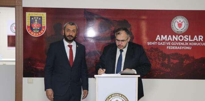 Saadet Partisi'nden Amanoslar Şehit Gazi ve Güvenlik Korucuları Federasyonu'na ziyaret