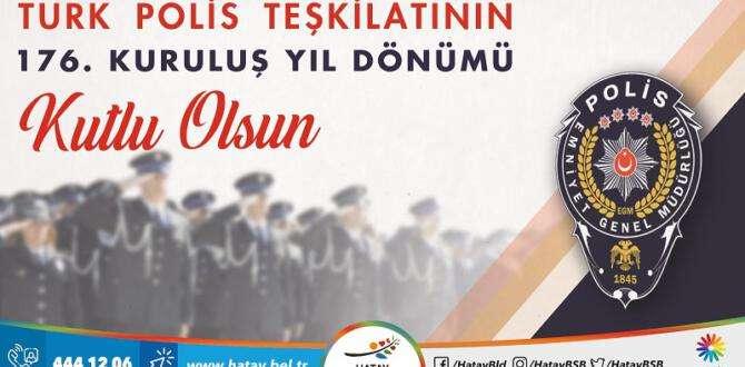 HBB BAŞKANI SAVAŞ'IN POLİS HAFTASI MESAJI