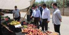 Kumlu'da pazar denetimi gerçekleştirildi