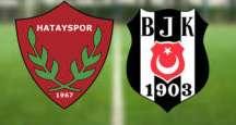 Beşiktaş'tan Hatayspor'a tarihi fark: 7-0