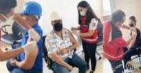 HATBORU'da çalışanlara koronavirüs aşısı yapıldı