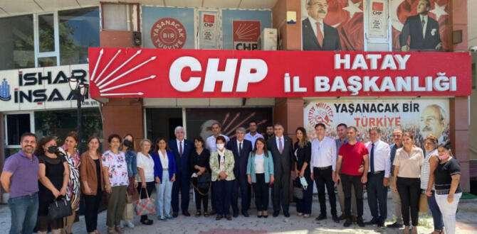 CHP Genel Başkan Yardımcısı Hatay'da