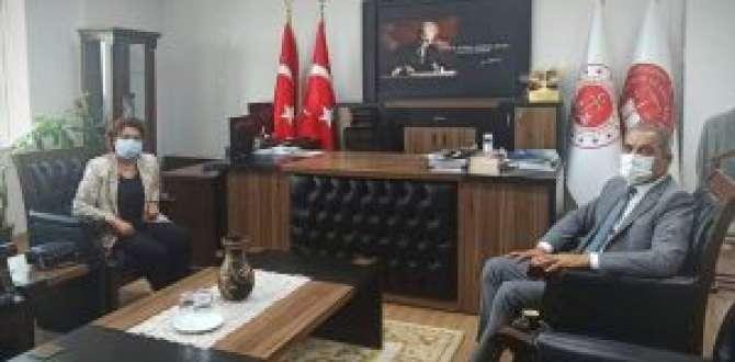 Vekil Şahin, Başsavcı Çelikkol'u ziyaret etti