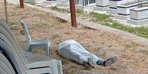 Samandağ Meydan'da erkek cesedi
