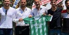 Başkan Beyazgül'den Yeşilköyspor'a tebrik