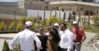 Kardeş şehir Aalen heyeti EXPO alanını gezdi