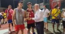 Başkan Tosyalı başarılı sporculara madalya takdim etti
