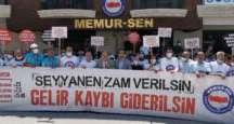 Bayrakdar: Seyyanen zam istiyoruz
