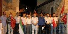 Filistin'e Hatay'da büyük destek