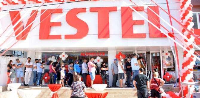Altıneller Vestel'de Festival Tadında Açılış