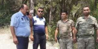 Erzin'de ormanlarda denetimler sürüyor