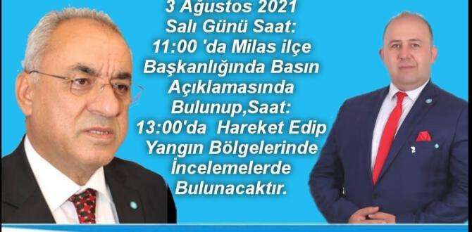 Eser: Genel Başkanımız Muğla'ya geliyor