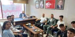 Samandağspor'dan Arslan'a ziyaret