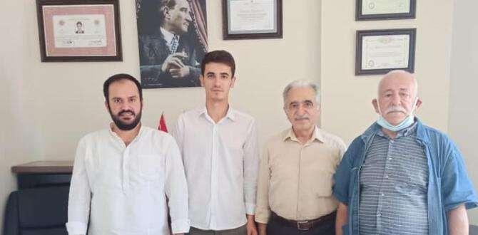 İYİ Parti Kırıkhan'dan işyeri ziyareti