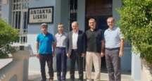Bayrakdar'dan üyelere ziyaret