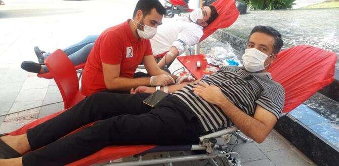 CHP Kırıkhan'dan kan bağışı