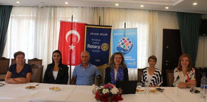 Antakya Defne Rotary Kulübü faaliyetlerini anlattı
