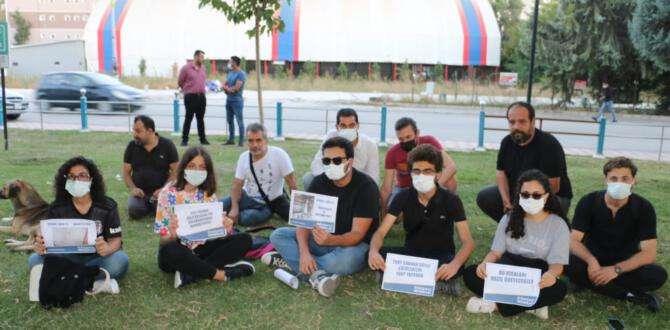 Öğrenciler Hatay'da hükümetten yurt istedi