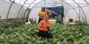 HBB kadın üreticilerin yanında