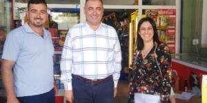 Başkan Karataş, işletme sahiplerini ziyaret etti