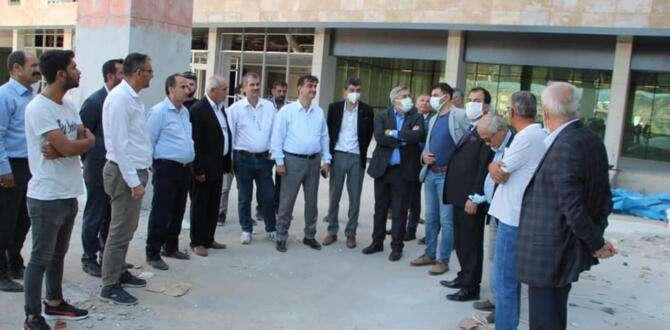 Yayman, Samandağ Devlet Hastanesini inceledi