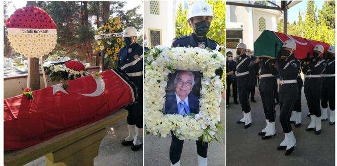 Duayen gazeteci Lütfü Akdoğan gözyaşları arasında defnedildi