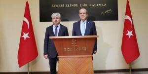 KKTC Lideri Ersin Tatar Hatay'da