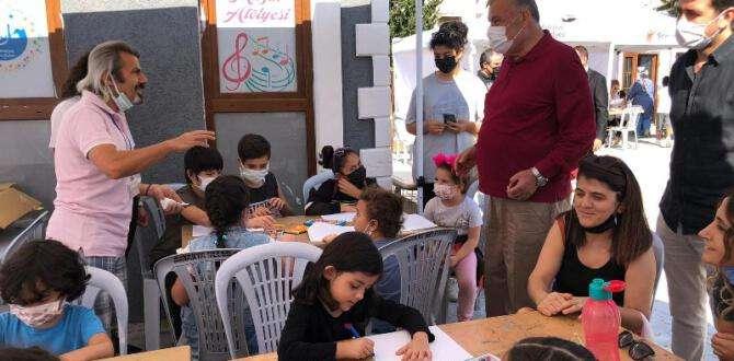 Başkan Yılmaz, HEROD Bilim Şenlikleri'nde öğrencilere eşlik etti